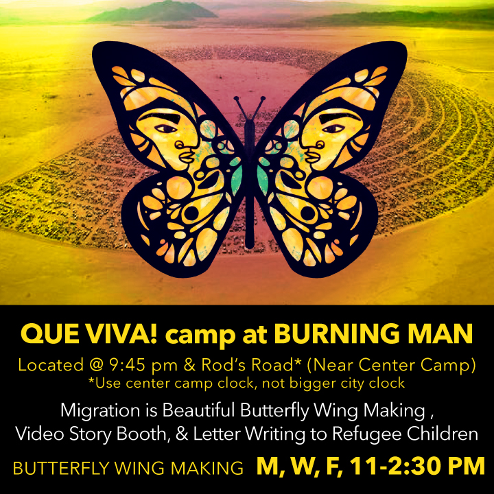 Burning Man 2014: Migration Is Beautiful/Que Viva