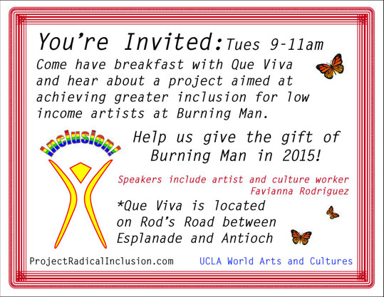 Project Radical Inclusion Presentation Breakfast