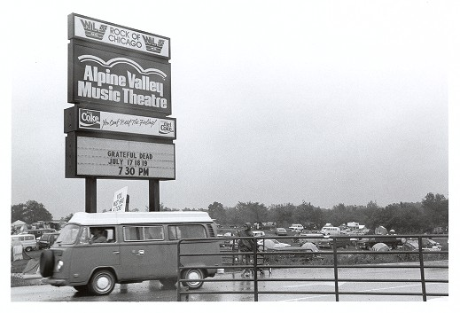 Last-ever Grateful Dead Show at Alpine Valley on the Big Screen