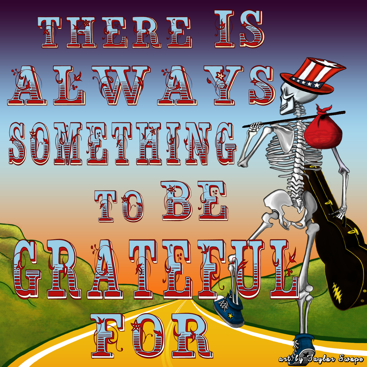 There's always something to be grateful for!