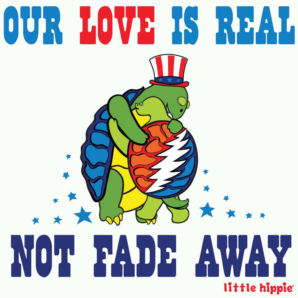 Our love is real. Not fade away.
