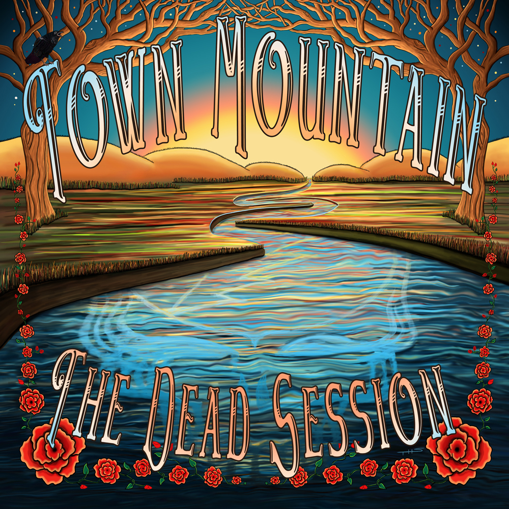 The Making of Town Mountain's Dead Session Album Art