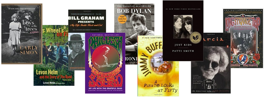 The Best Rock N Roll Memoirs & Biographies