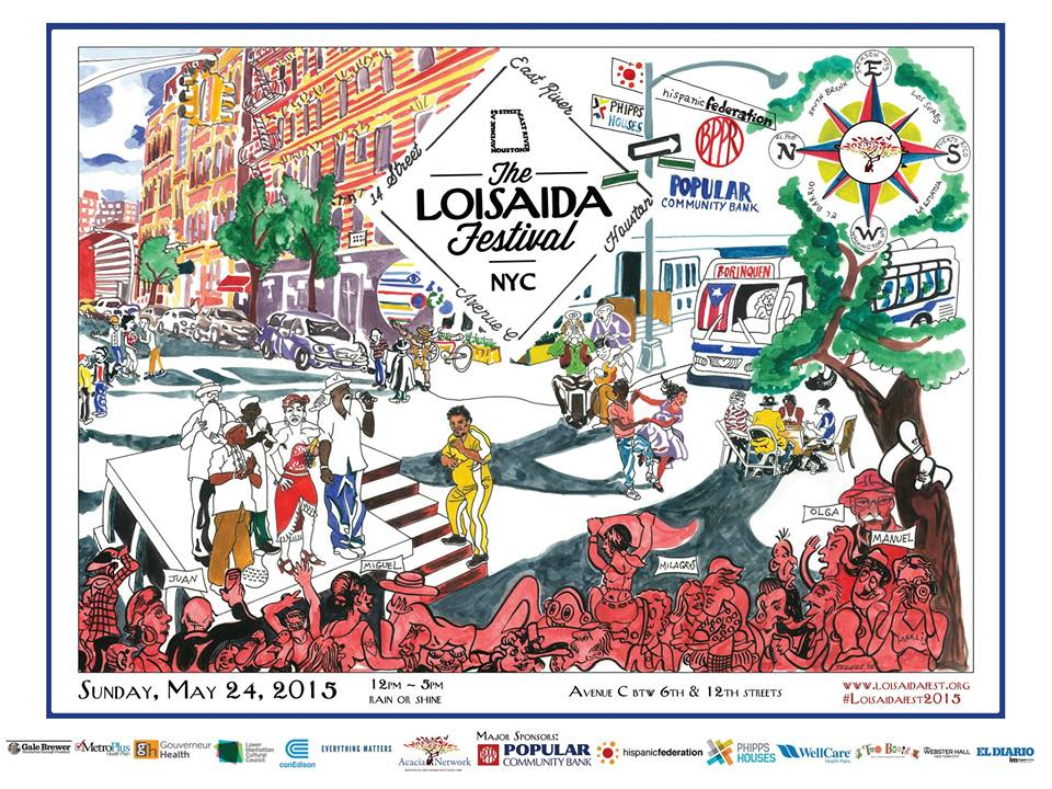 Great Reason To Return To NYC: Loisaida Fest