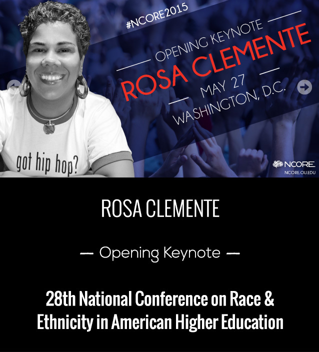 Blinding Whiteness: Rosa Clemente @ NCORE