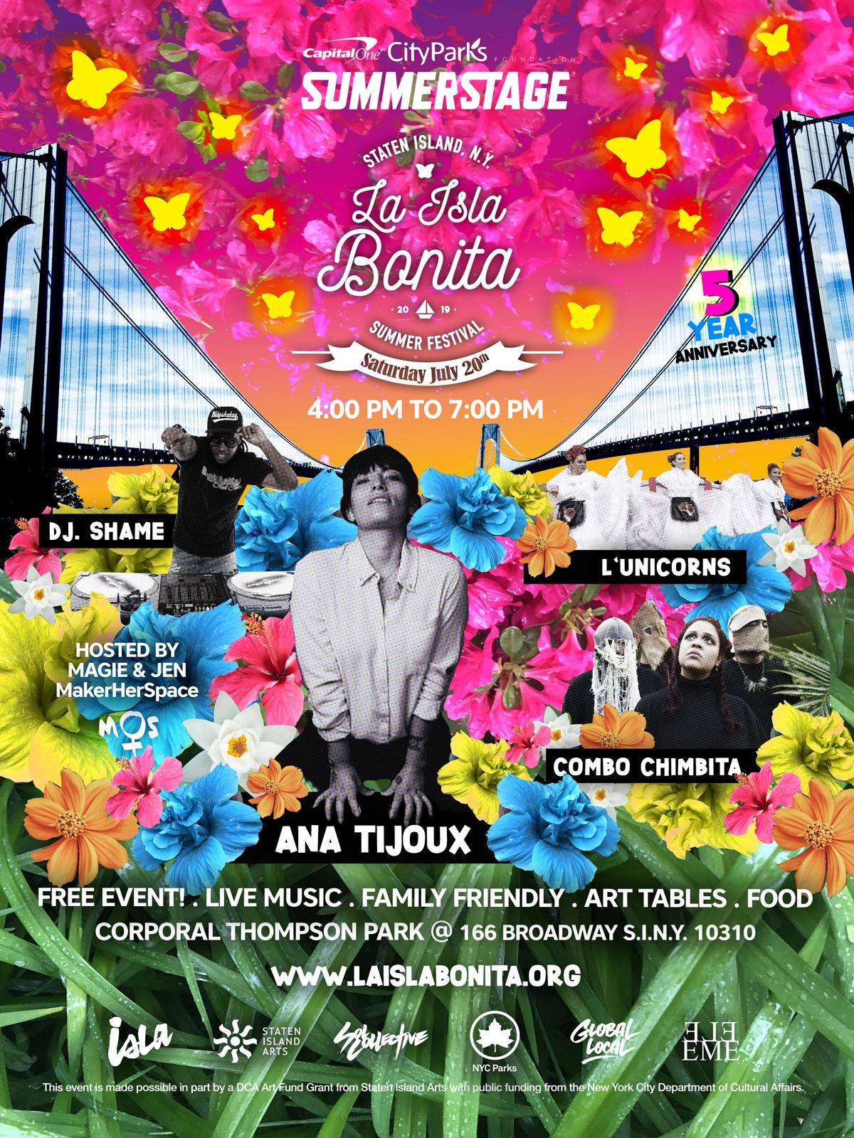 La Isla Bonita Festival 5th Anniversary!