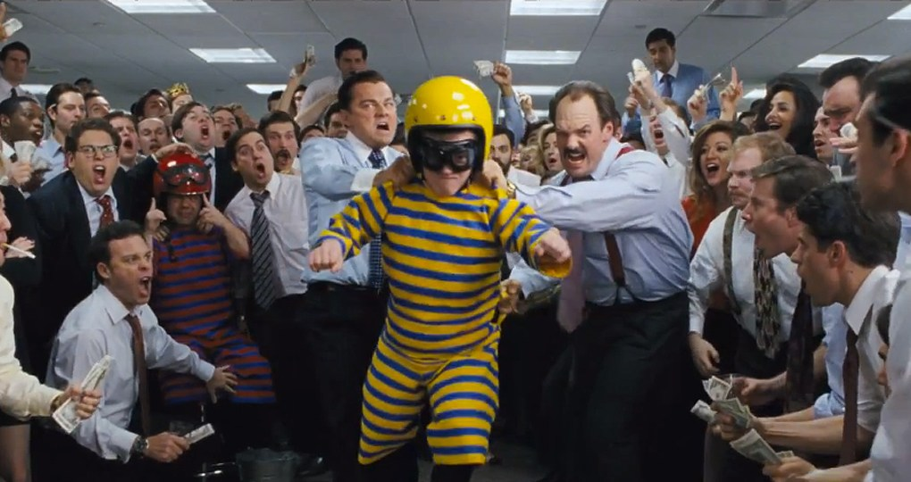 The Wolf of Wall Street Nominated for 5 Academy Awards