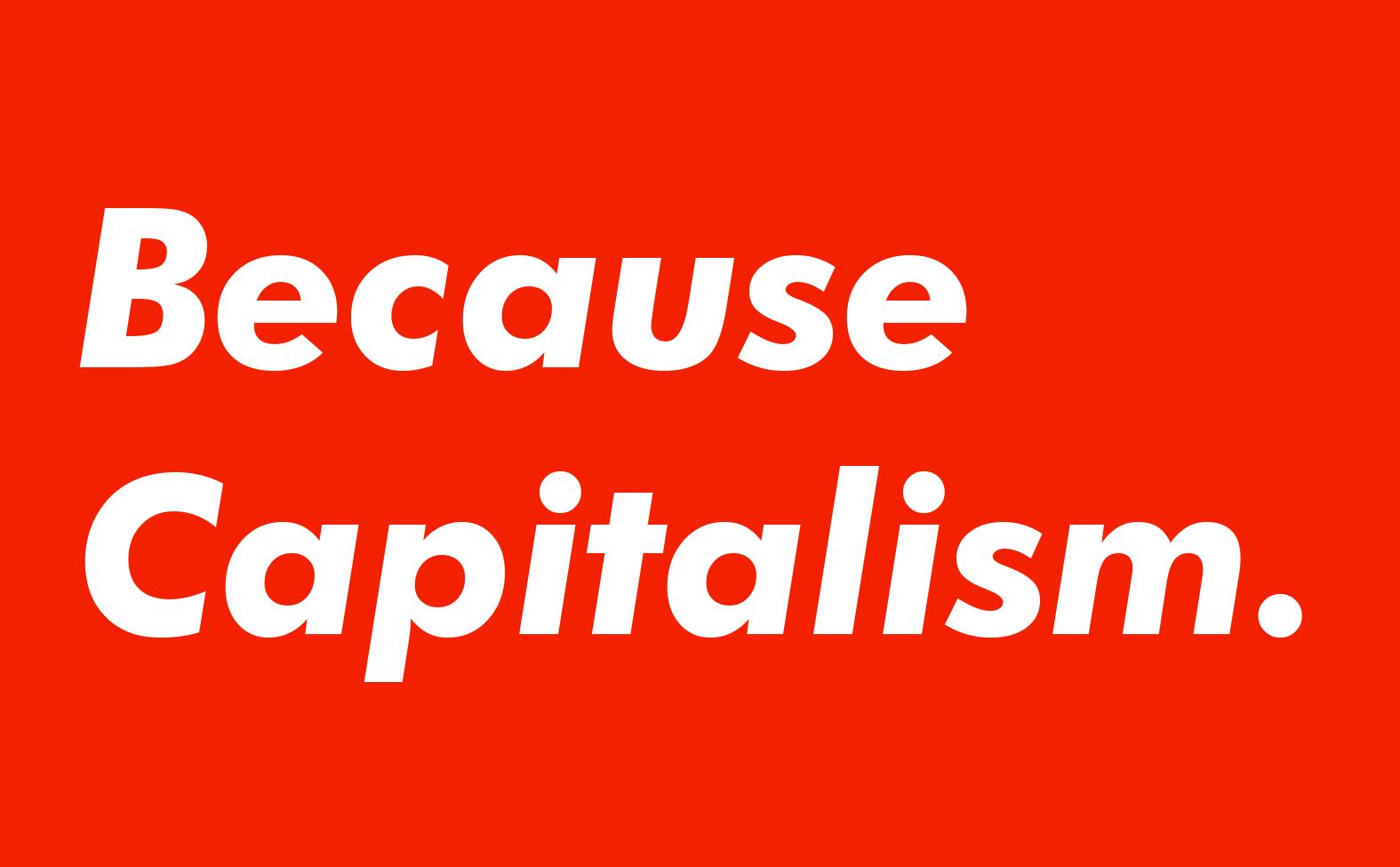 becausecapitalism